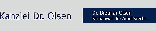 Arbeitsrecht München - Rechtsanwalt Dr. Olsen